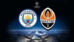 Indosport - Manchester City vs Shakhtar Donetsk.