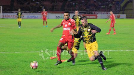Semen Padang harus dahaga 8 laga tanpa kemenangan usai kalah dari Barito Putera. - INDOSPORT