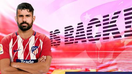 Costa 'pulang' ke Los Rojiblancos - INDOSPORT