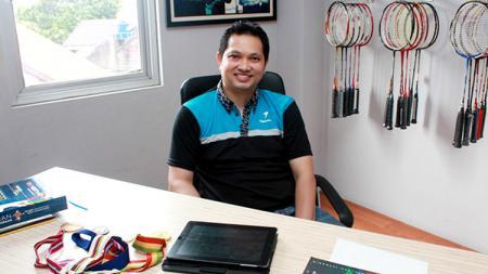 Juara dunia Bulutangkis, Hariyanto Arbi. - INDOSPORT