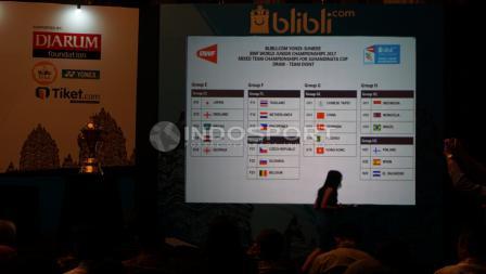 Indonesia berada di grup H1 bersama dengan Mongolia dan Brasil.
