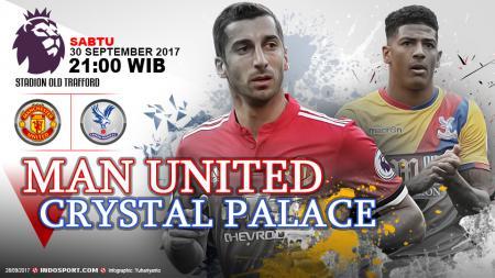 Prediksi Manchester United vs Crystal Palace - INDOSPORT