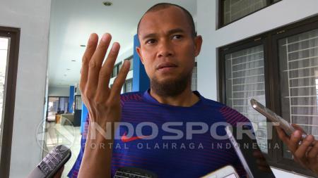 Bek kanan Persib Bandung, Supardi Nasir. - INDOSPORT