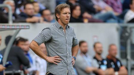 Julian Nagelsmann adalah pelatih termuda yang bisa membawa klubnya, RB Leipzig, lolos ke perempatfinal Liga Champions musim ini. - INDOSPORT