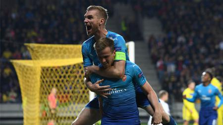 BATE vs Arsenal. - INDOSPORT