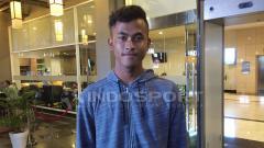 Indosport - Kiper Timnas U-19, Muhammad Aqil Savik.