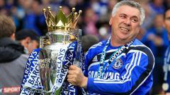 Indosport - Carlo Ancelotti raih sukses di Chelsea.