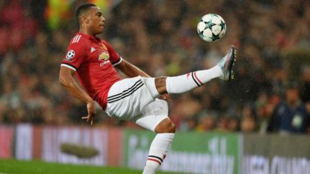 Anthony Martial, pemain Manchester United. - INDOSPORT