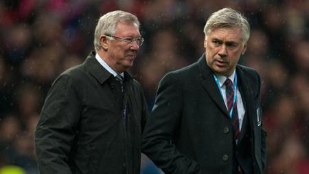 Raksasa Liga Inggris, Manchester United hampir dapat pengganti Sir Alex Ferguson, Carlo Ancelotti. - INDOSPORT