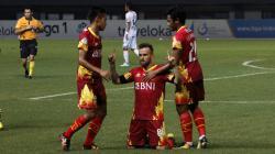 Bhayangkara FC vs Bali United.