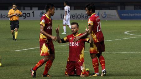 Bhayangkara FC vs Bali United. - INDOSPORT