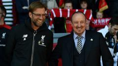 Indosport - Jurgen Klopp dan Rafael Benitez.