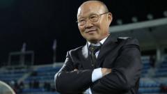 Indosport - Park Hang-seo, Pelatih Timnas Vietnam asal Korea Selatan.