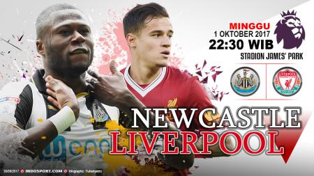 Prediksi Newcastle United vs Liverpool - INDOSPORT