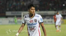 Pemain klub Liga 1 2019, Bali United, Andhika Wijaya berpeluang dimainkan saat melawan PSM Makassar.