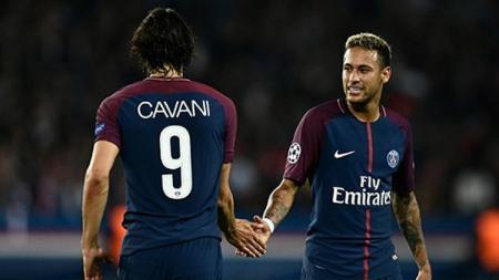 Neymar dan Cavani. - INDOSPORT