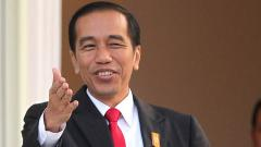 Indosport - Presiden Republik Indonesia, Joko Widodo.