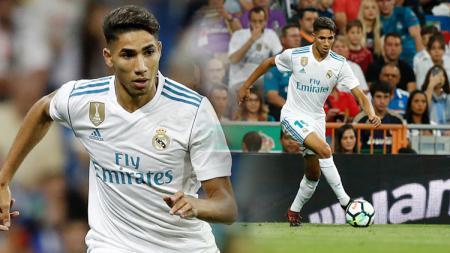 Raksasa LaLiga Spanyol, Real Madrid, patut menyesal. Ronaldo menyayangkan kepergian Achraf Hakimi ke Inter Milan. - INDOSPORT