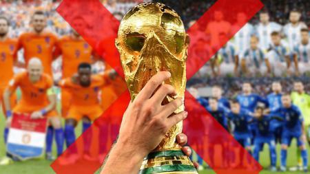 Bagaimana nasib Piala Dunia 2018 jika Argentina, Italia, dan Belanda tidak lolos? - INDOSPORT