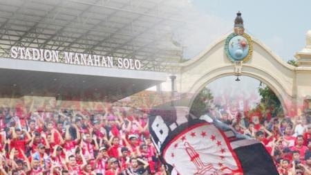 Kota Solo, Stadion Manahan, dan suporter klub sepakbola Solo. - INDOSPORT