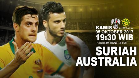 Prediksi Suriah vs Australia. - INDOSPORT