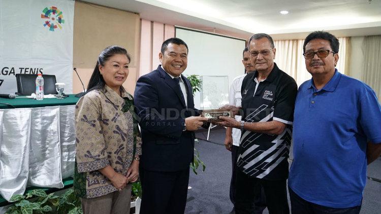Tenis siap ke Asian Games 2018 Copyright: Muhammad Effendi/Indosport