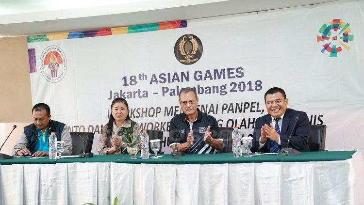 Tenis siap ke Asian Games 2018 Copyright: Muhammad Effendi/Indosport