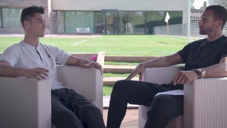 Rio Ferdinand 'Bertamu' ke Kediamannya Cristiano Ronaldo - INDOSPORT