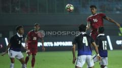 Indosport - Fachrudin Aryanto menjadi kapten bagi Timnas Indonesia saat melawan Kamboja.
