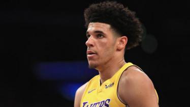Pemain LA Lakers, Lonzo Ball. - INDOSPORT