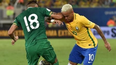 Bolivia sukses menahan imbang Brasil. - INDOSPORT