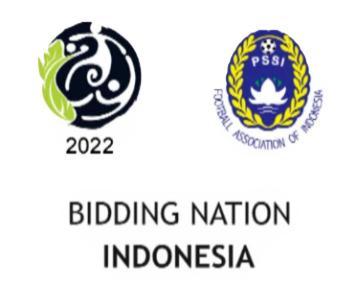 Logo bidding Indonesia Piala Dunia 2022. Copyright: Istimewa