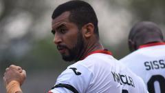 Indosport - Striker Mitra Kukar, Marclei Santos.