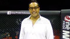 Indosport - Ketua Komite Olahraga Beladiri Indonesia (KOBI), Ardi Bakrie.