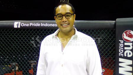 Ketua Komite Olahraga Beladiri Indonesia (KOBI), Ardi Bakrie. - INDOSPORT