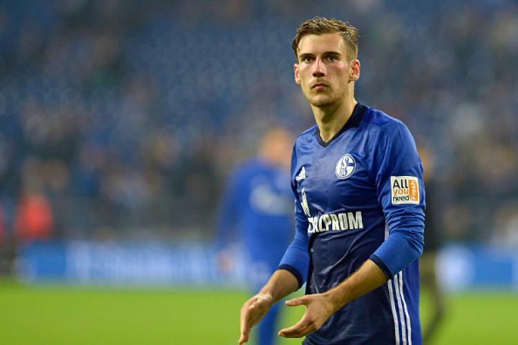 Leon Goretzka, gelandang serang Schalke 04. Copyright: INDOSPORT