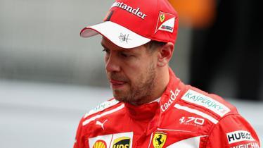 Pembalap Formula 1 (F1) Ferrari, Sebastian Vettel . - INDOSPORT