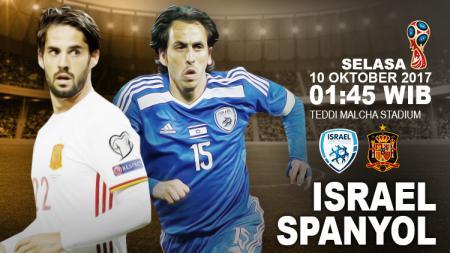 Prediksi Israel vs Spanyol. - INDOSPORT