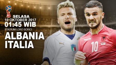 Prediksi Albania vs Italia. - INDOSPORT