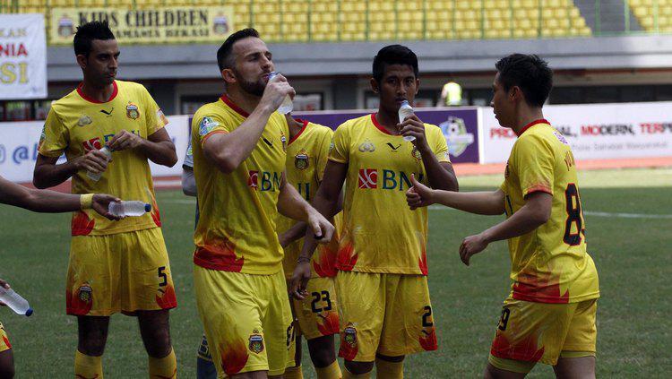 Bhayangkara FC berhasil mengungguli Persiba Balikpapan dengan skor 3-2. Copyright: Media Bhayangkara FC