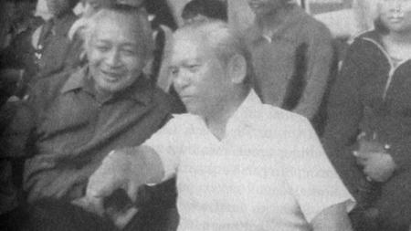 Presiden Soeharto pernah menyambut NIAC Mitra ketika kunjungan ke Bangladesh pada 1979 - INDOSPORT