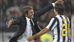 Indosport - Antonio Conte berasa tua setelah Juventus menunjuk Andrea Pirlo sebagai pelatih kepala Bianconeri.
