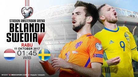 Prediksi Belanda vs Swedia. - INDOSPORT
