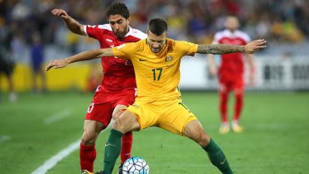 Australia vs Suriah. - INDOSPORT