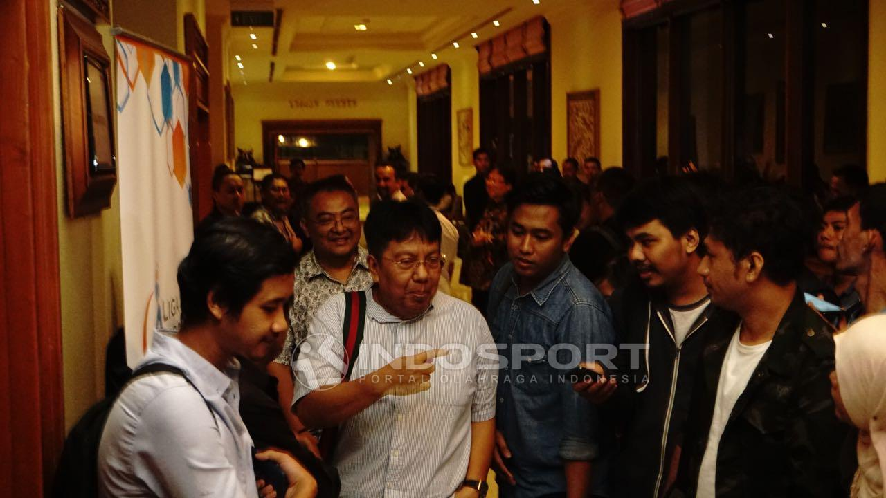 Direktur Utama Persija Jakarta, Gede Widiade. Copyright: Herry Ibrahim/INDOSPORT