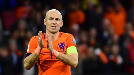 Arjen Robben resmi pensiun dari sepak bola. - INDOSPORT