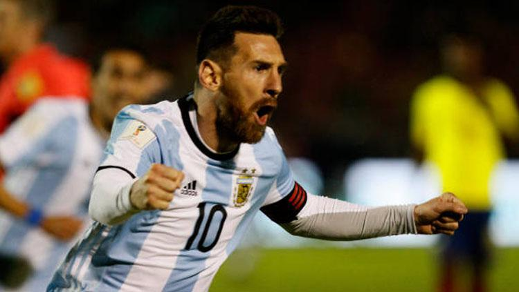 Lionel Messi. Copyright: INDOSPORT