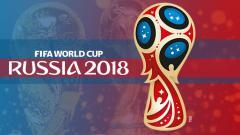 Indosport - Logo Piala Dunia Rusia 2018.