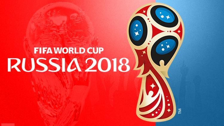 Logo Piala Dunia Rusia 2018. Copyright: Grafis: Eli Suhaeli/INDOSPORT