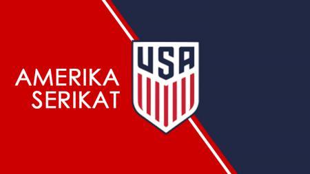 Logo Timnas Amerika Serikat. - INDOSPORT